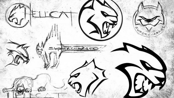 The Evolution Of The Hellcat Logo Car Wallpapers 600x339
