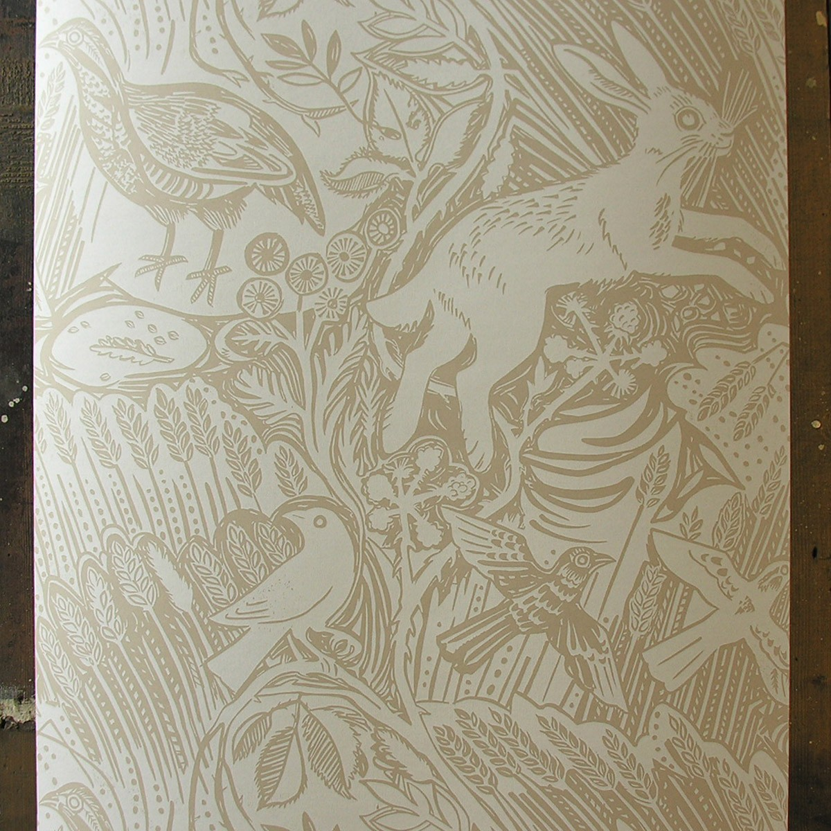 Wallpaper by Mark Hearld 1200x1200