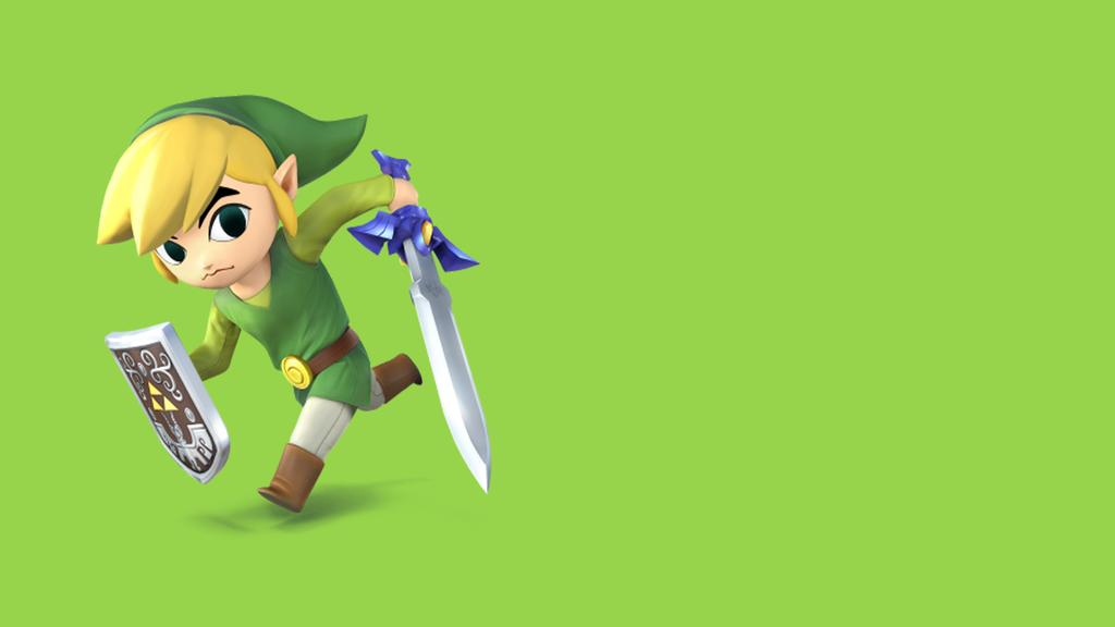 Toon Link Background by FieryBird179 1024x576