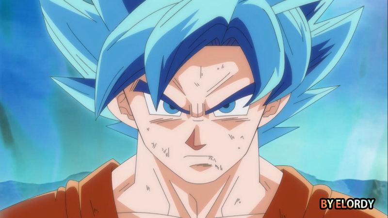 Goku Super Saiyan God by ELordy 800x450
