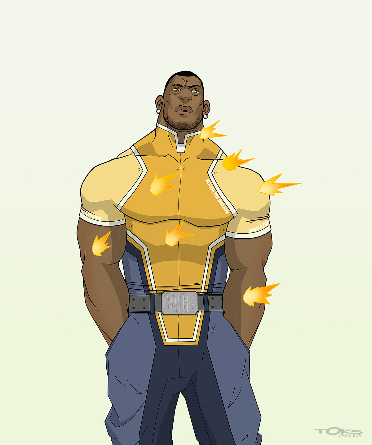 REDESIGN LUKE CAGE by Toks S 1200x1432