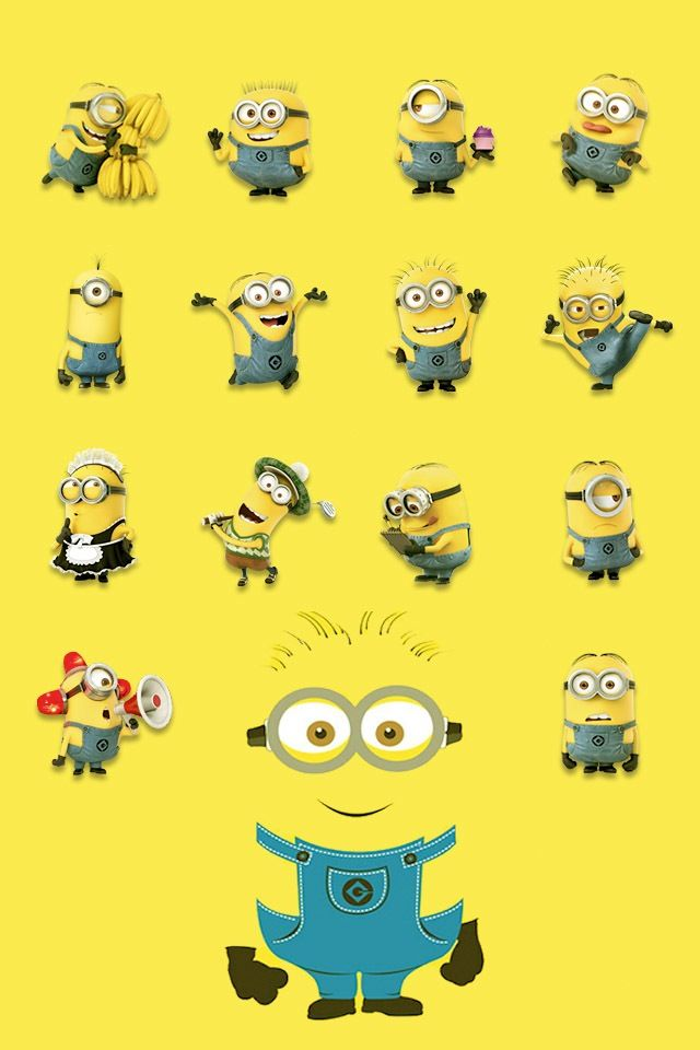 Minion wallpaper Minions Pinterest Minions Minion Wallpaper and 640x960