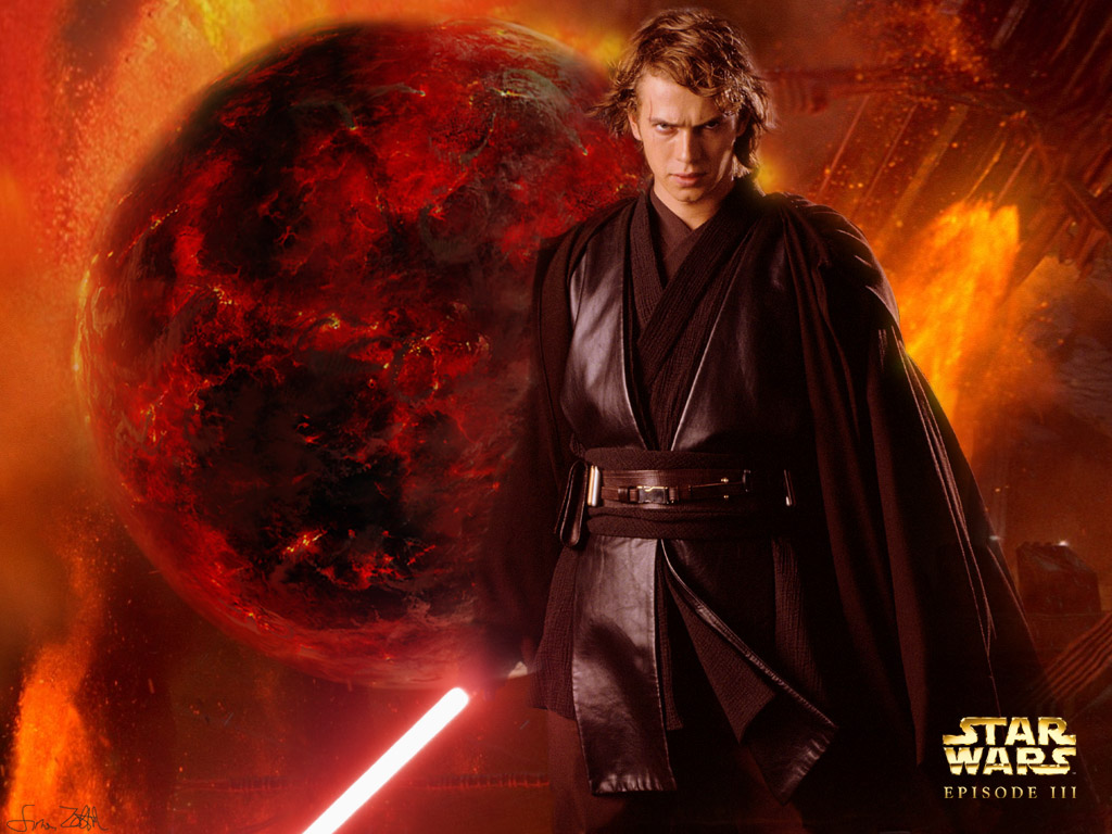 Star Wars Anakin Skywalker Wallpaper: Obi Wan Vs Anakin Wallpaper