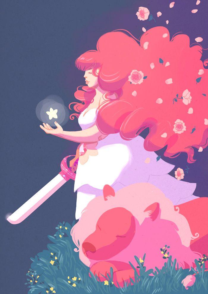 24+ Rose Quartz Steven Universe Wallpapers on WallpaperSafari