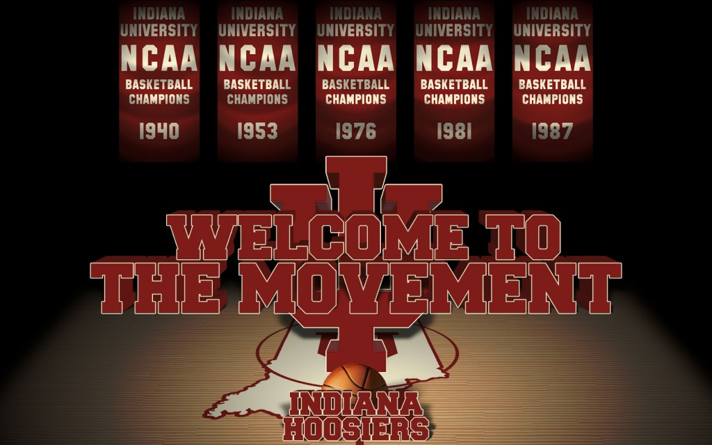 indiana hoosiers basketball wallpaper 1024x640