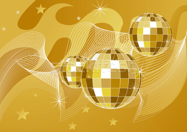Disco ball backgrounds vector illustration Olexandra Kolyadina 600x424