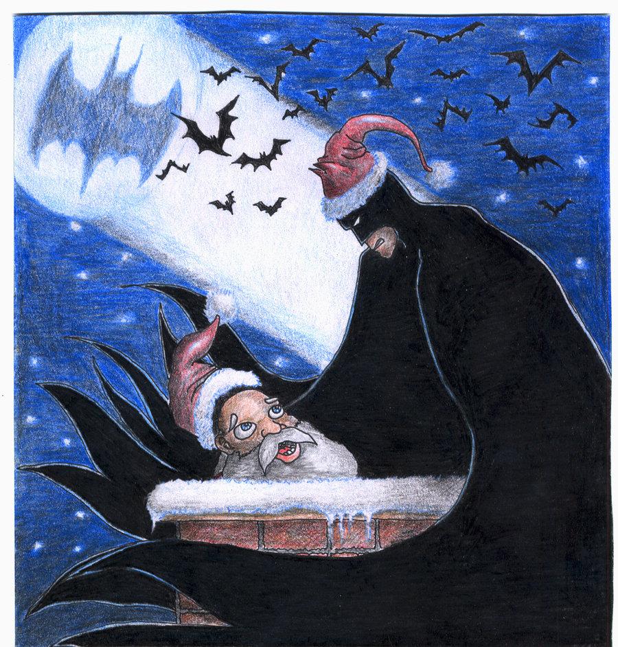 Batman Christmas by TheLandoBros 900x942