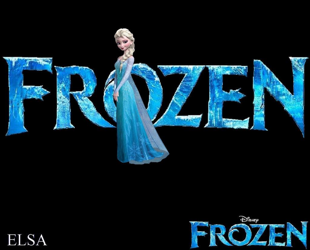 Frozen Logo Wallpapers   Elsa by ESPIOARTWORK 102 1024x824