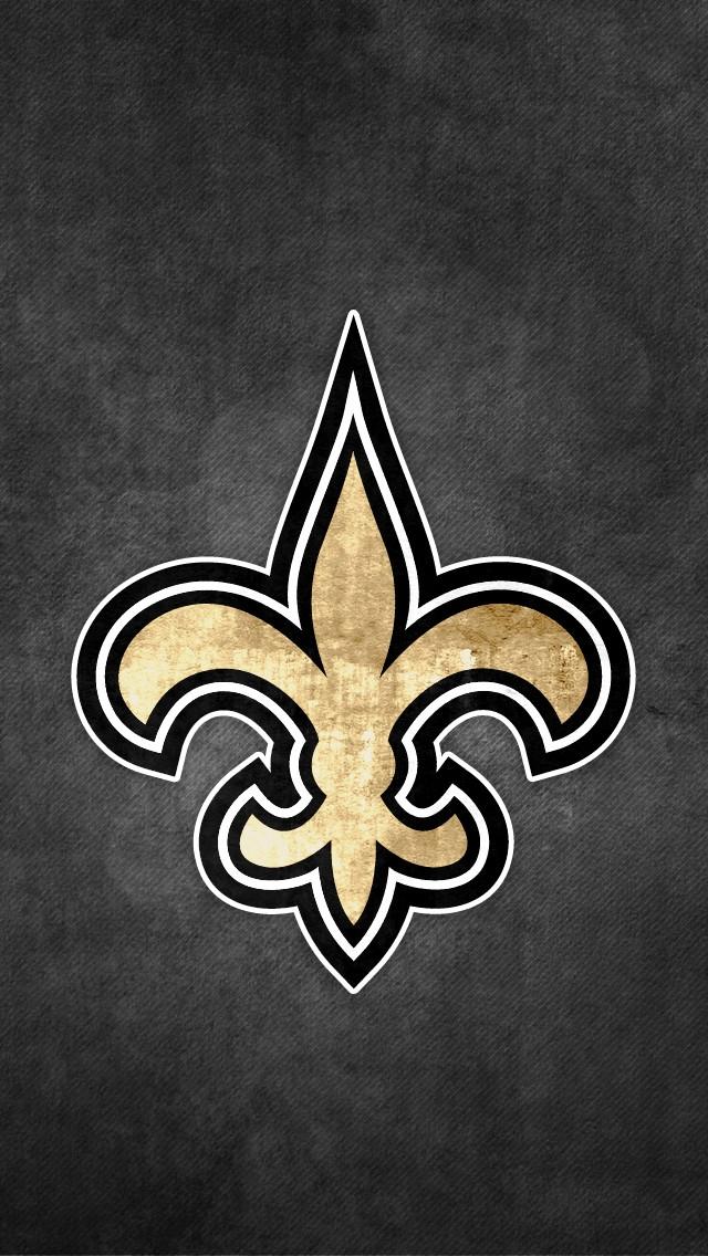 New Orleans Saints iPhone 5 Wallpaper 640x1136 640x1136