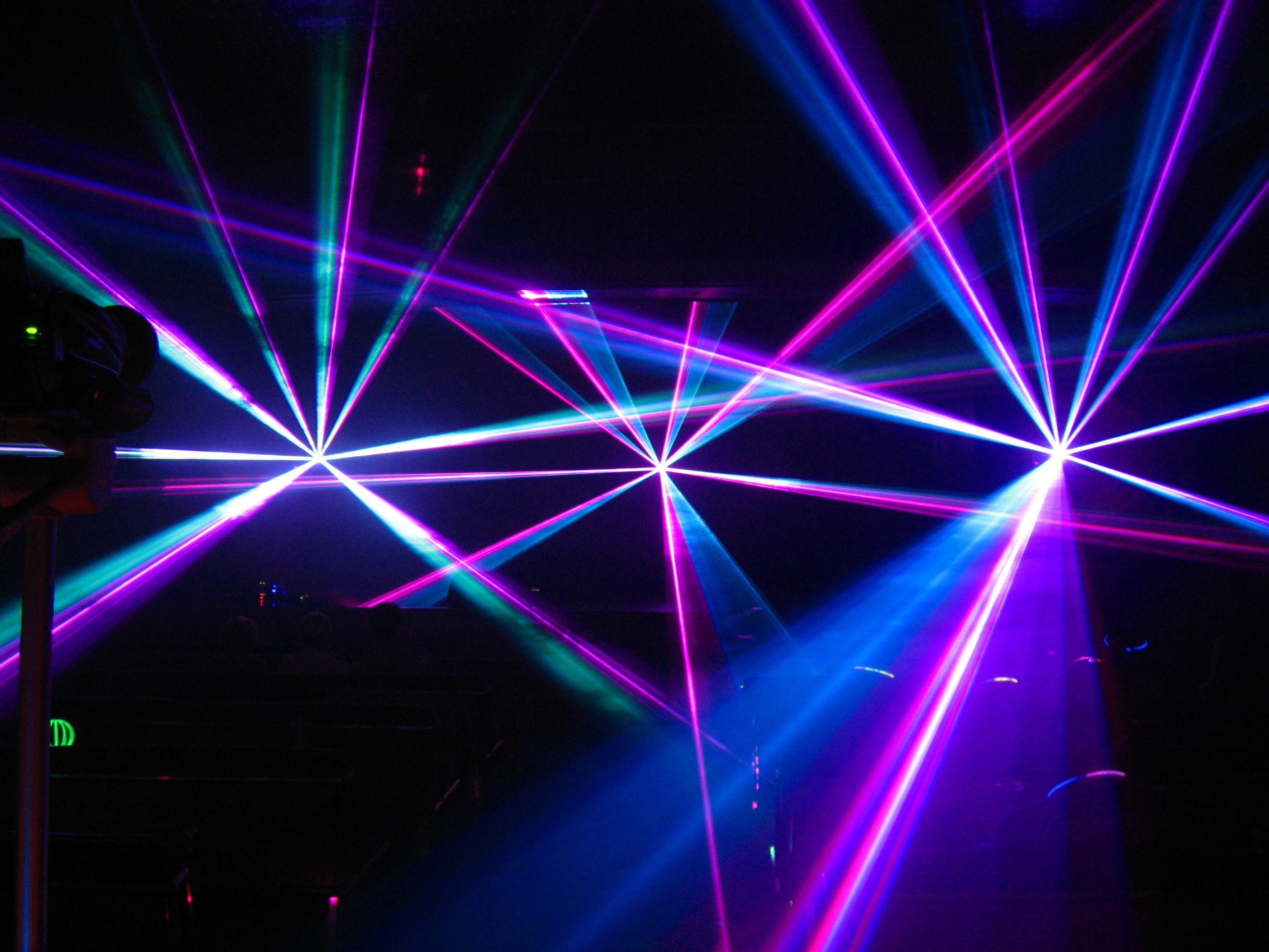 laser show party wallpaper - photo #25