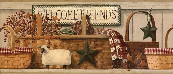 wall border sku 15 99 15 99 unavailable the welcome friends border 590x252