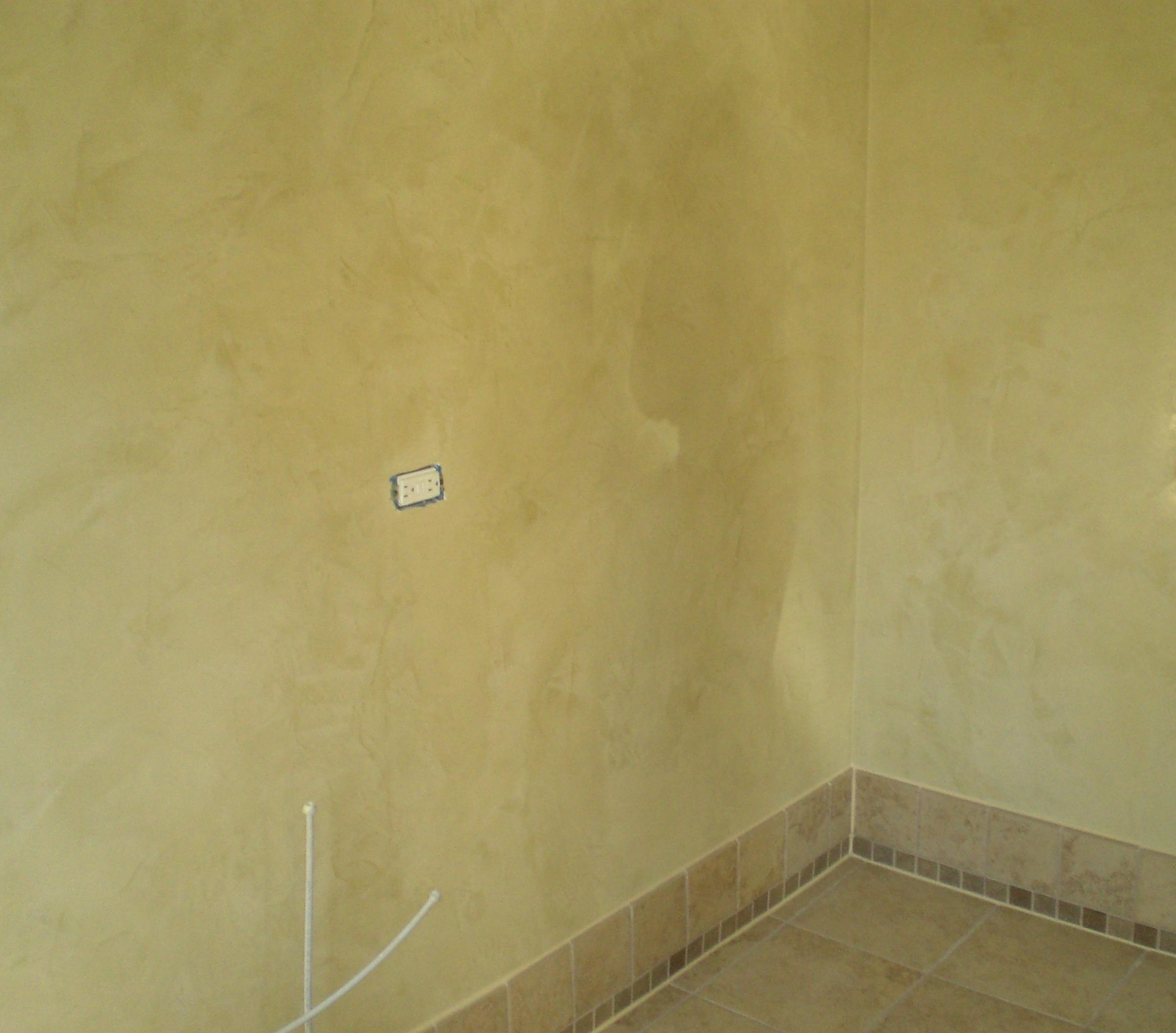 Venetian Plaster Over Wallpaper Wallpapersafari