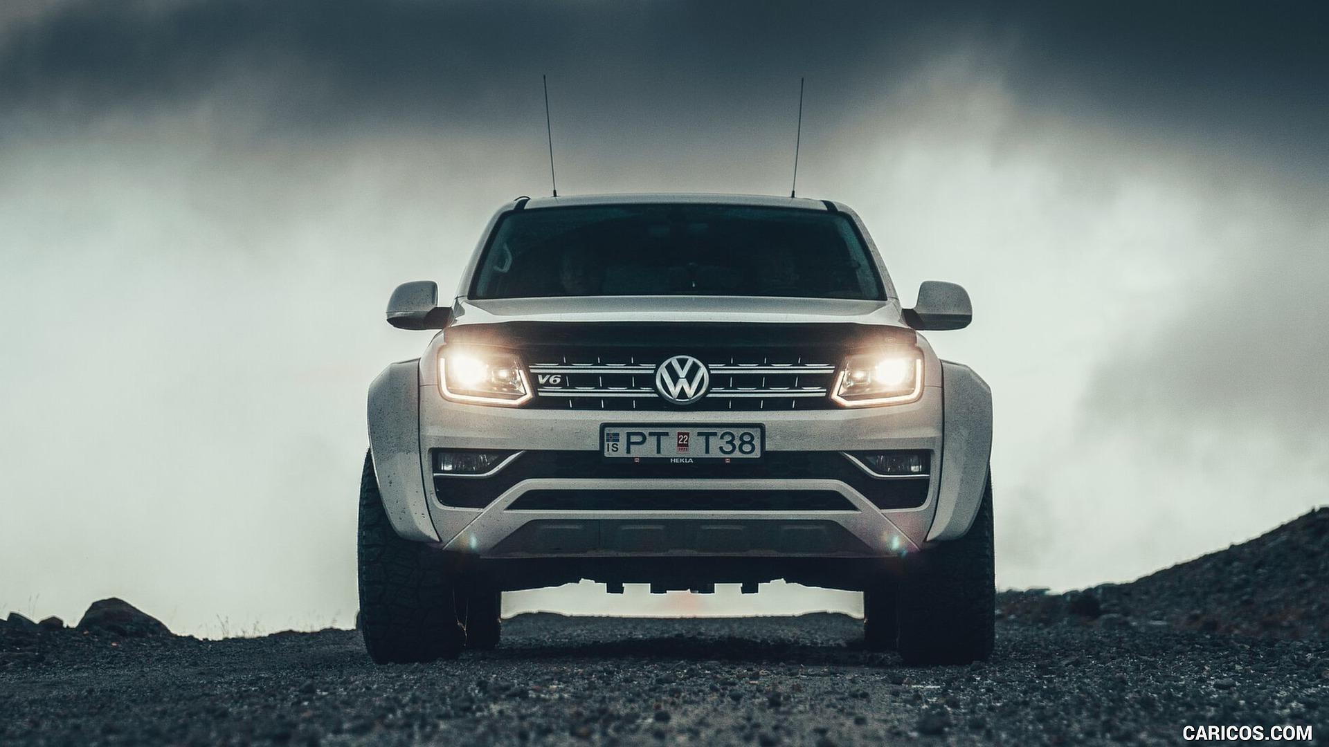 2019 Volkswagen Amarok by Arctic Trucks   Front HD Wallpaper 3 1920x1080