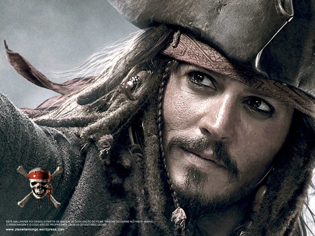 Pirate Captain Jack Sparrow Wallpaper