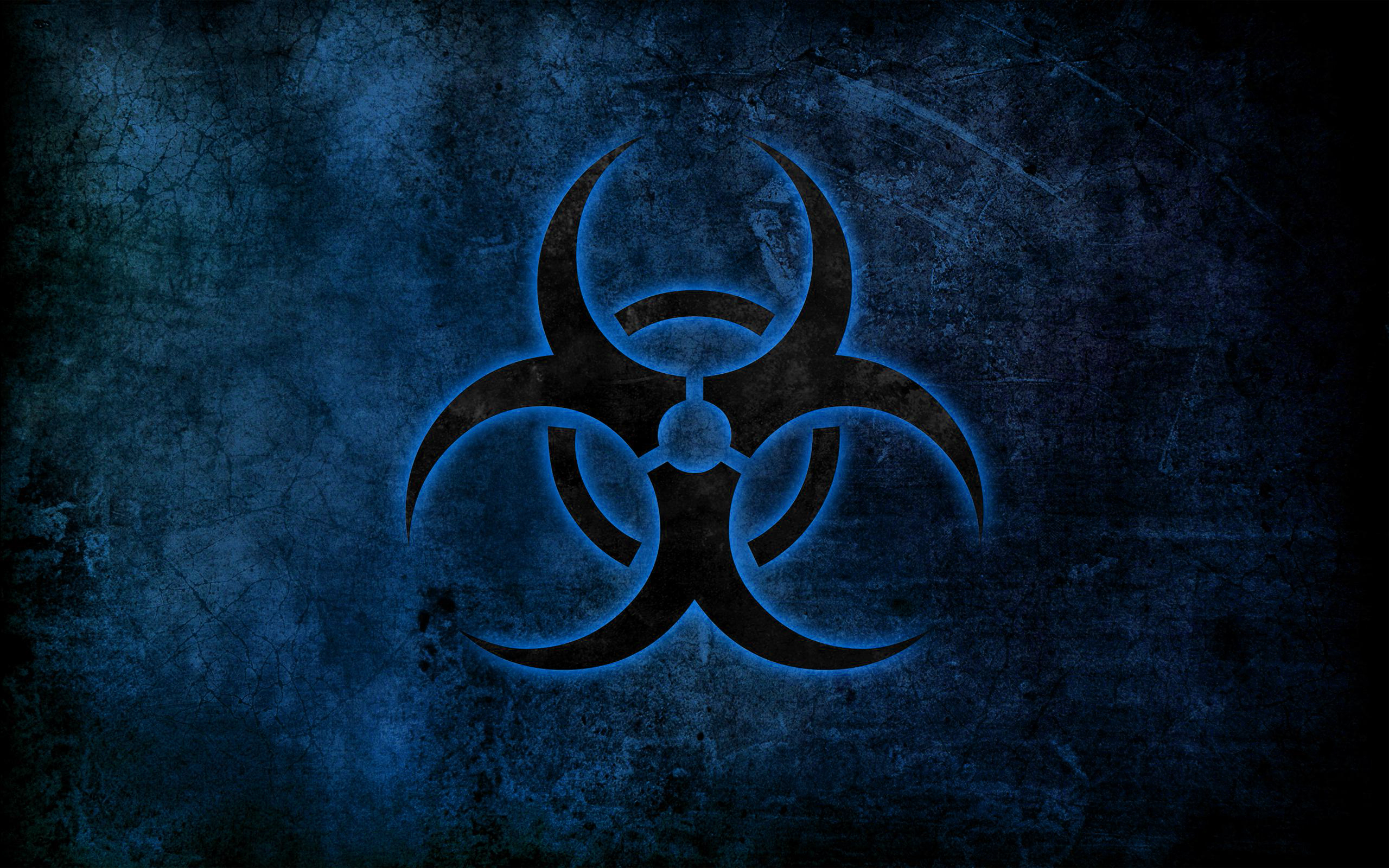 46 Blue Biohazard Wallpaper On Wallpapersafari
