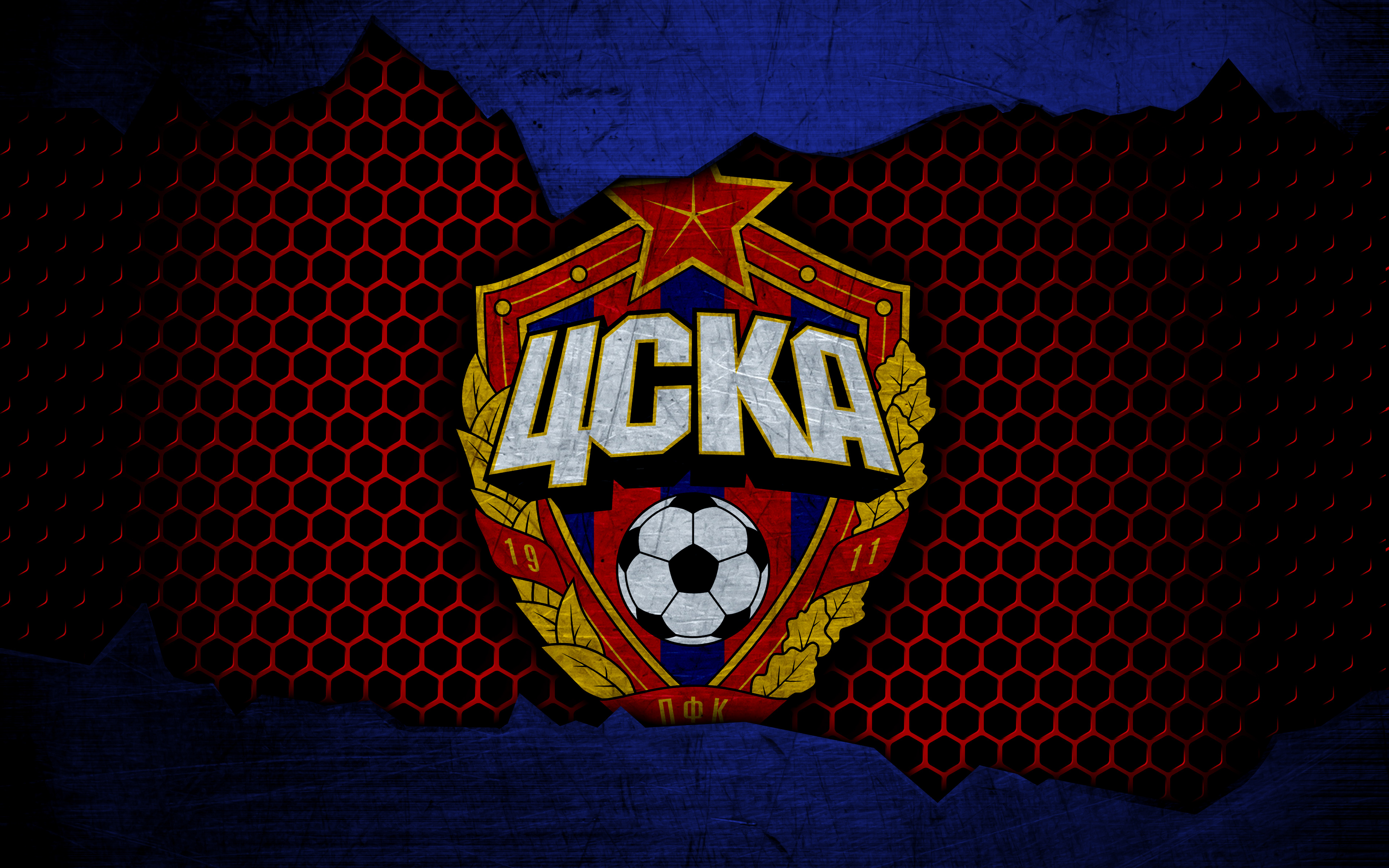 PFC CSKA Moscow 4k Ultra HD Wallpaper Background Image 3840x2400