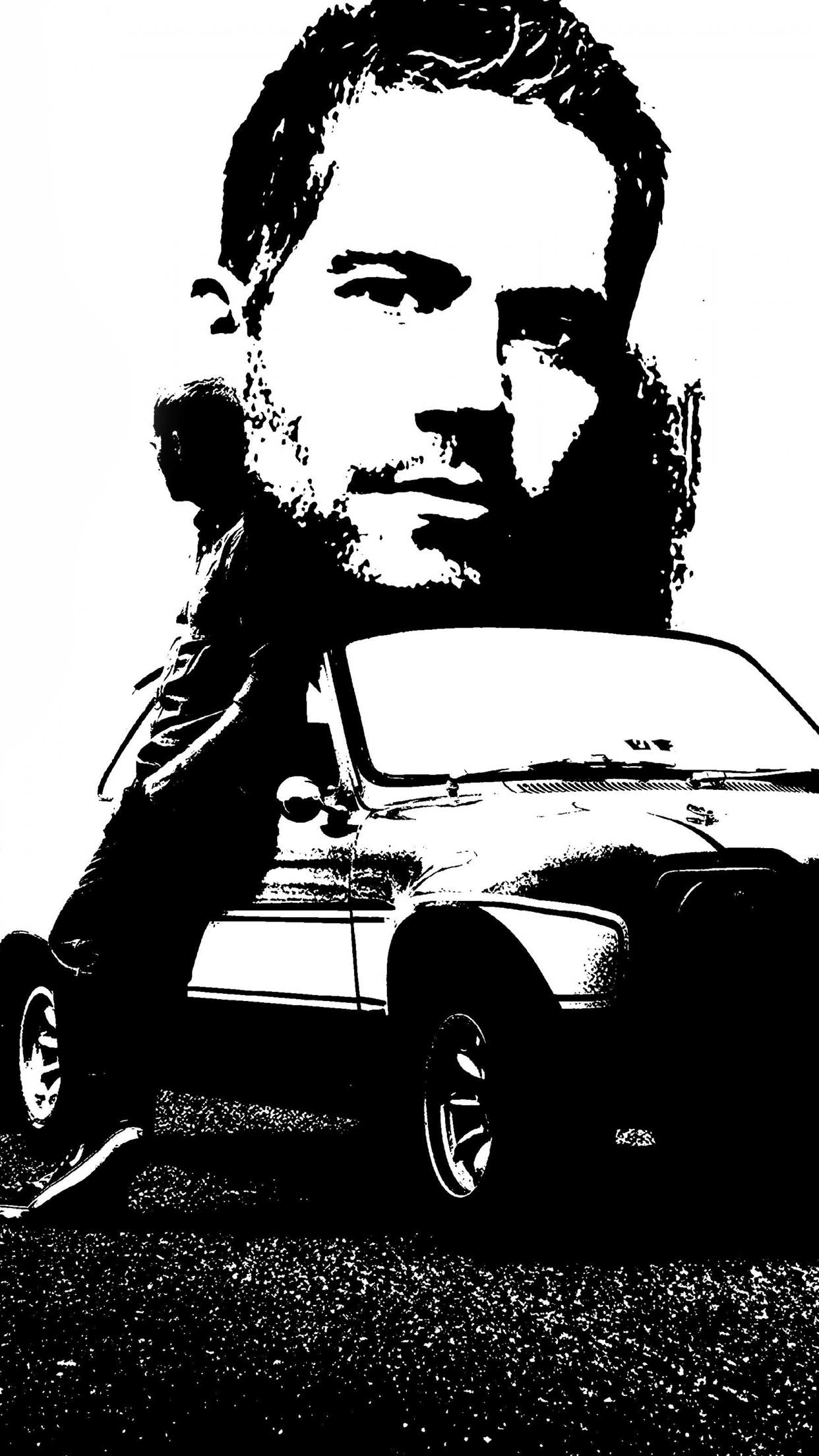fast furious paul walker iphone parallax 3wallpapers les 3 wallpapers - Fast And Furious 7 Cars Iphone Wallpapers