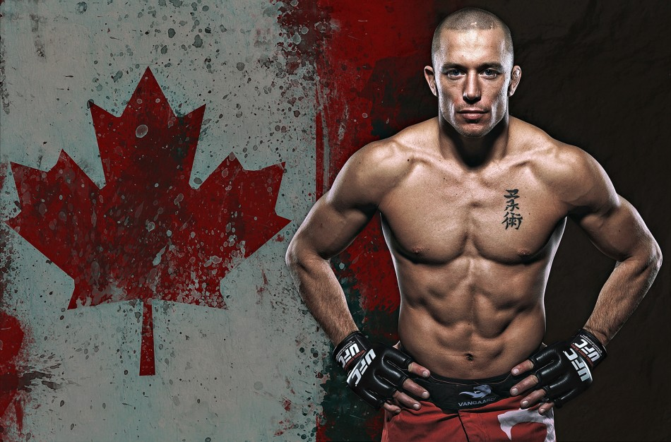 GSP Stakes Claim As GOAT With His Title Win At UFC 217 950x626