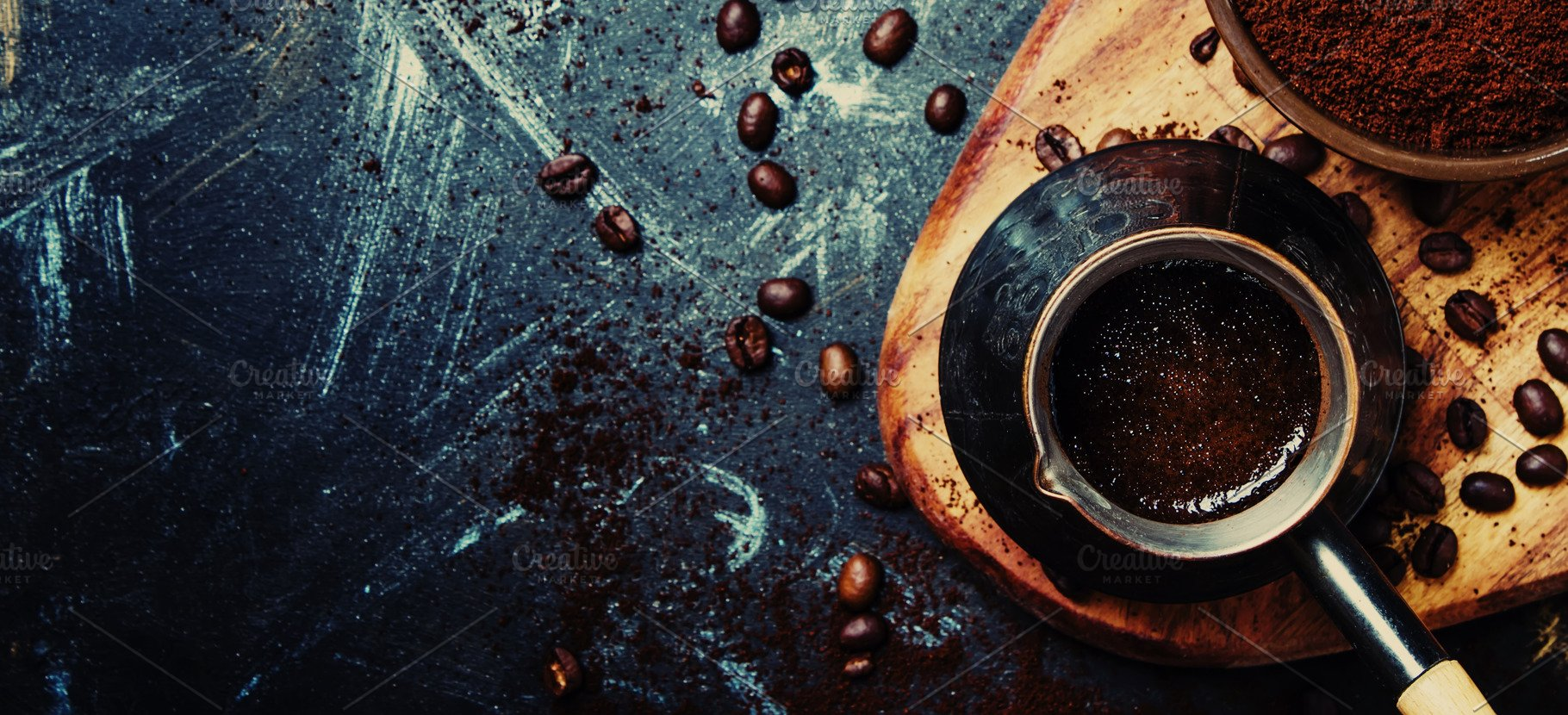 Food coffee background banner top High Quality Food Images 1820x830