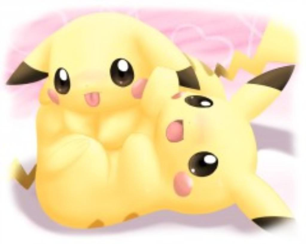 Kawaii pokemon wallpaper wallpapersafari - Pikachu kawaii ...