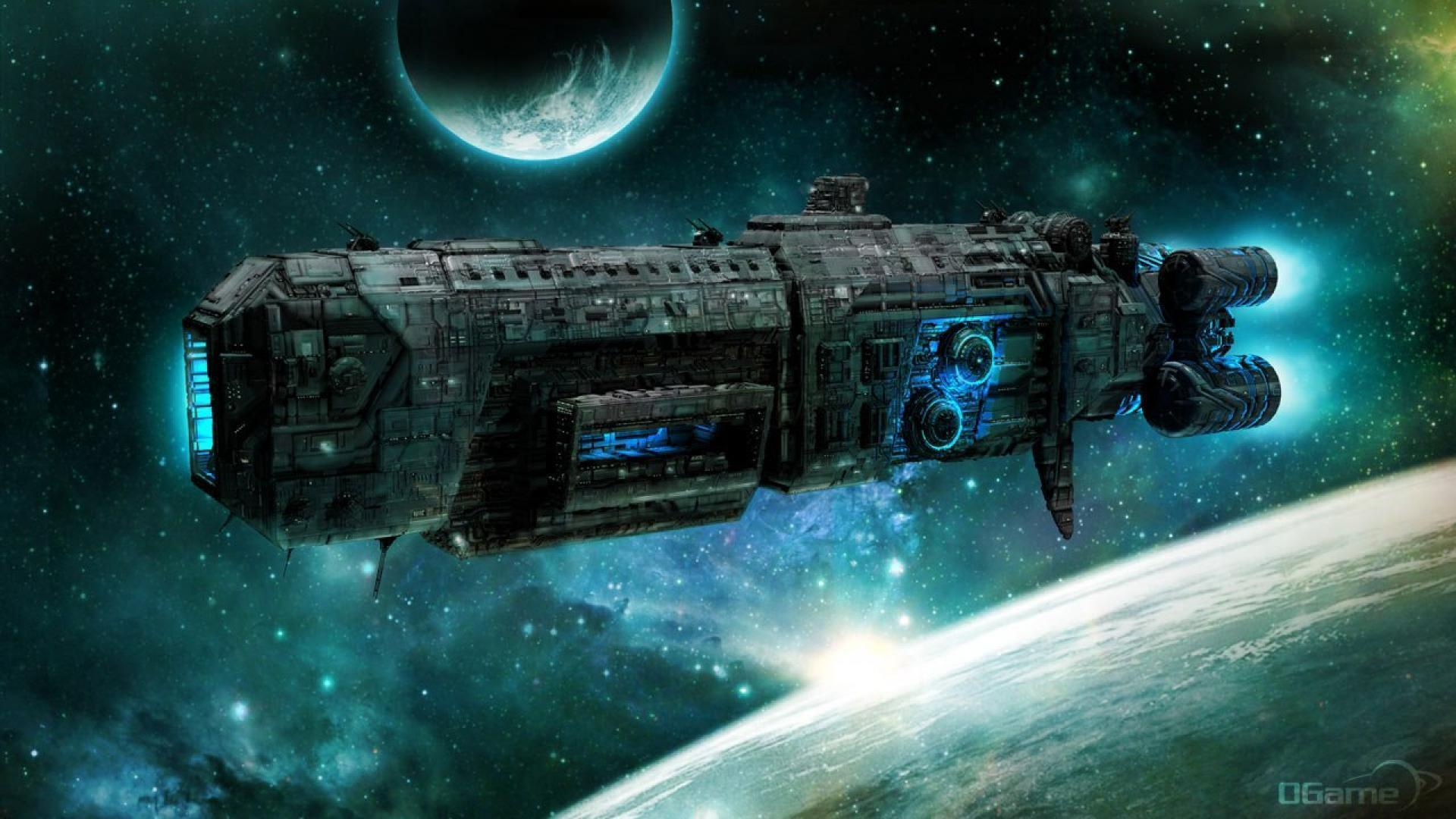 Space Ship Wallpapers 1920x1080