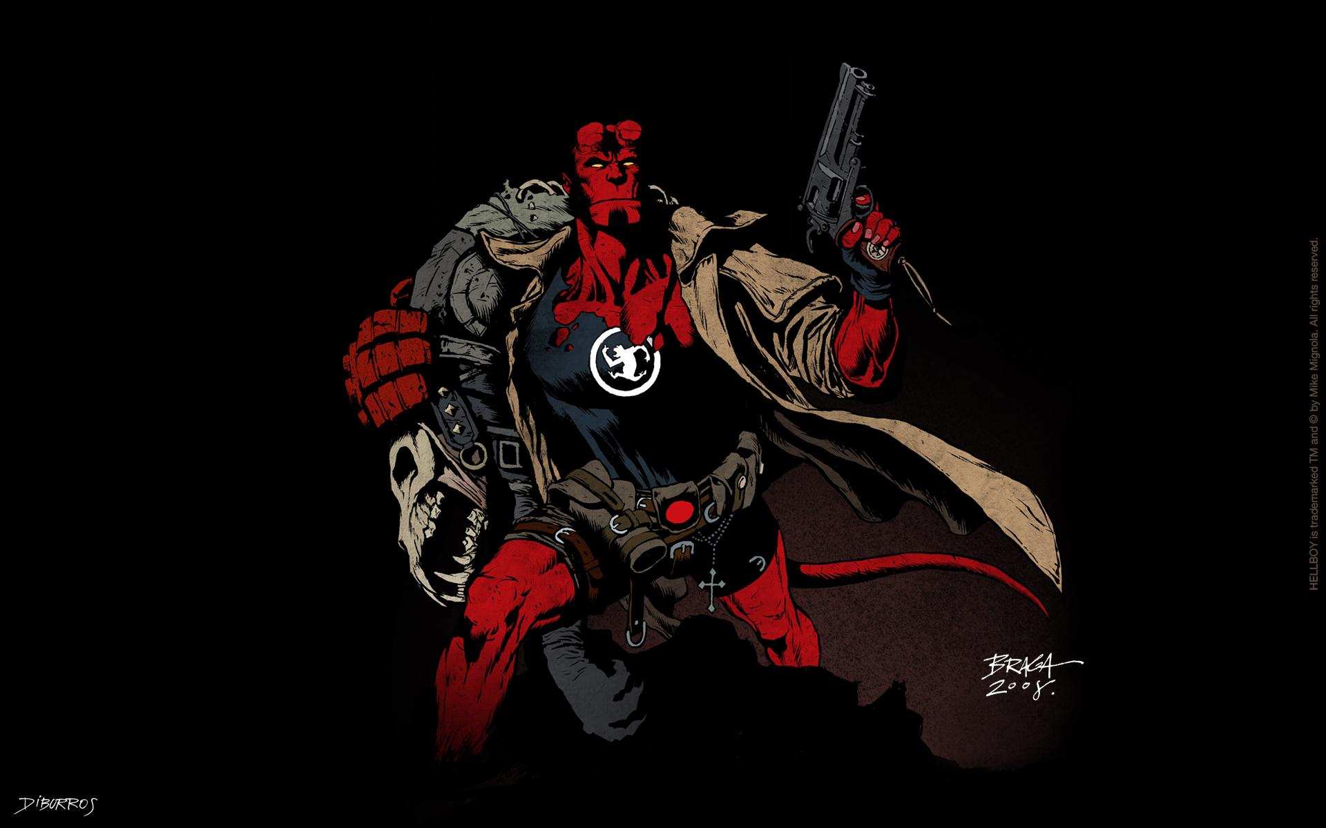 Hellboy X Comic Wallpaper 1920x1200