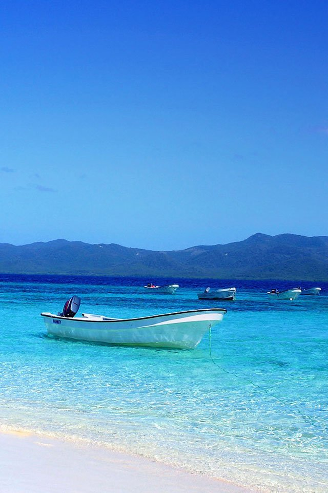 Punta Cana Beach iPhone 4s Wallpaper Download | iPhone Wallpapers ...