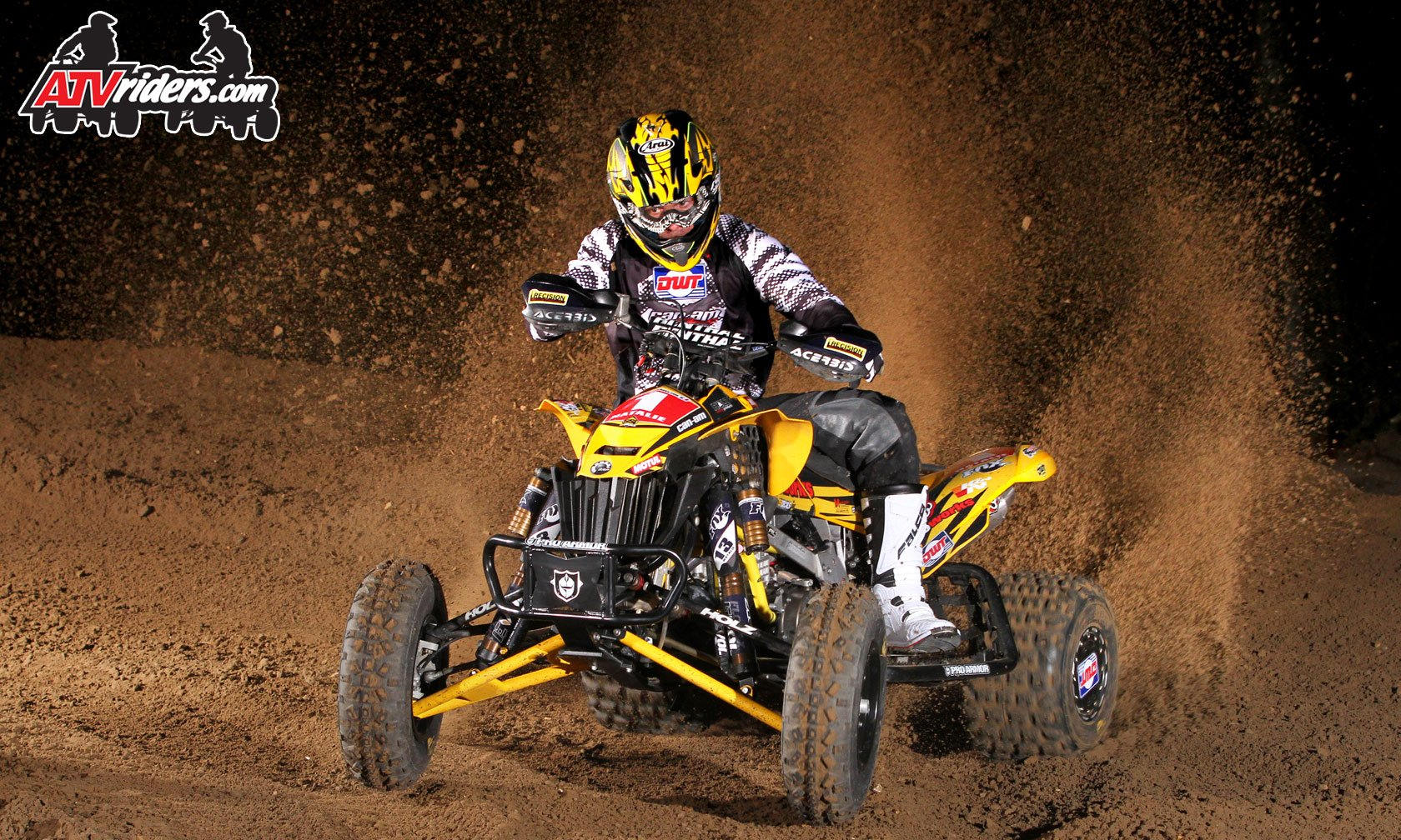 FOX Athlete John Natalie   AMA ATV Motocross Pro Racer   ATVriders 1680x1008