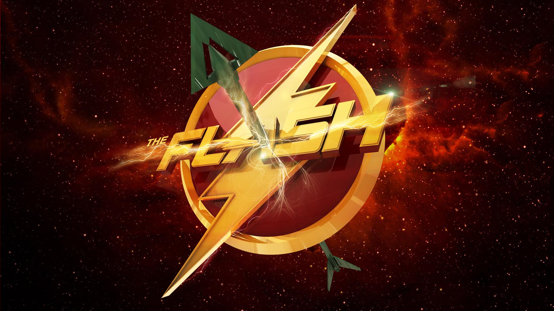 Green Arrow and Flash Wallpapers - WallpaperSafari The Flash Wallpaper