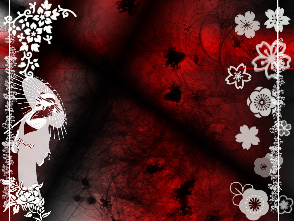 Random Japanese wallpaper by ilMaryl 1024x768