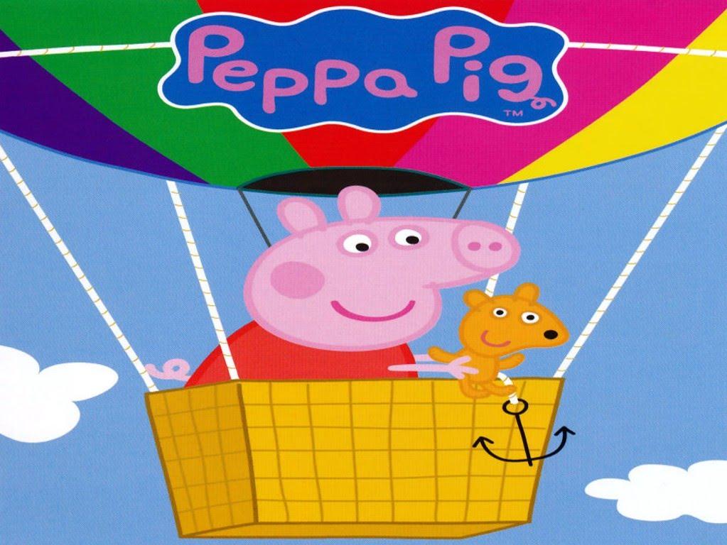 Pin Peppa Pig Wallpaper Mural 1023x768