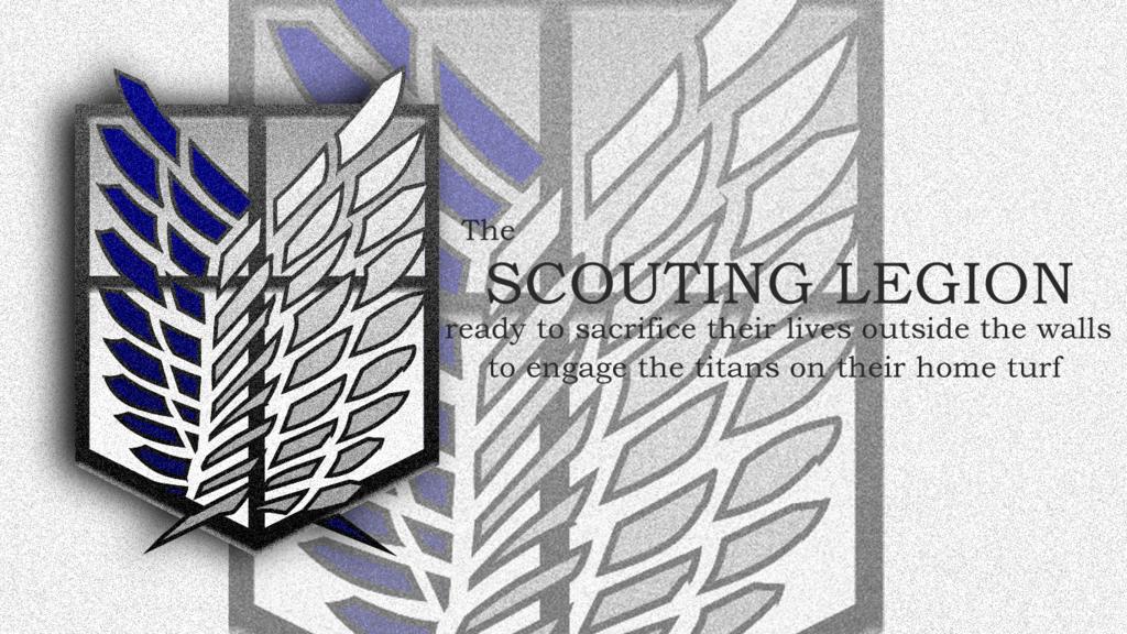 Attack on Titan Scouting Legion by chronos73 1024x576