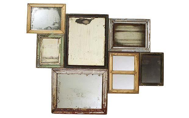 Antique Mirror Wallpaper For Walls Wallpapersafari