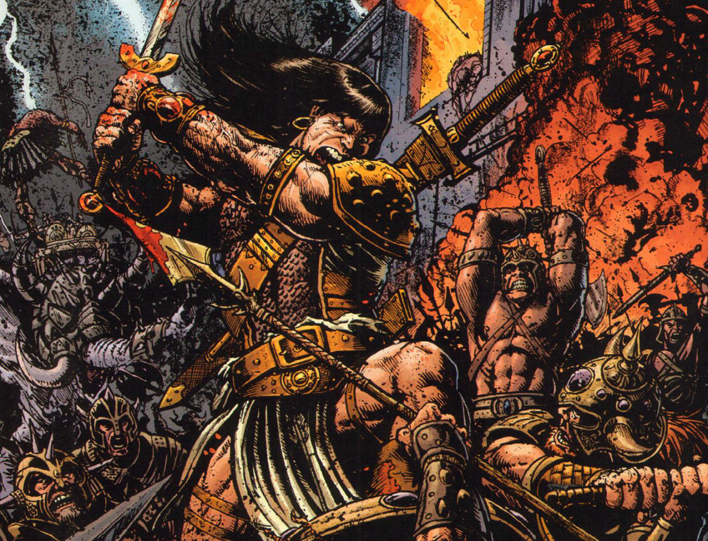 PK97 High Definition Barbarian Pictures Mobile PC 1440x1100