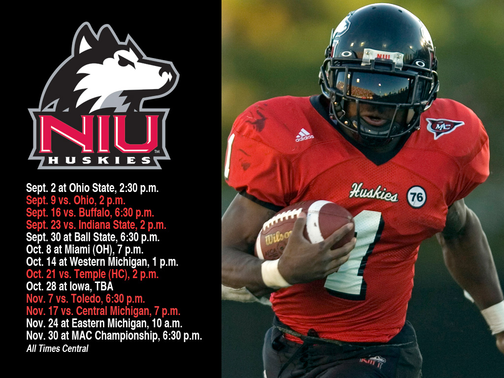 NIUHUSKIESCOM   The Northern Illinois Official Athletic Site 1024x768
