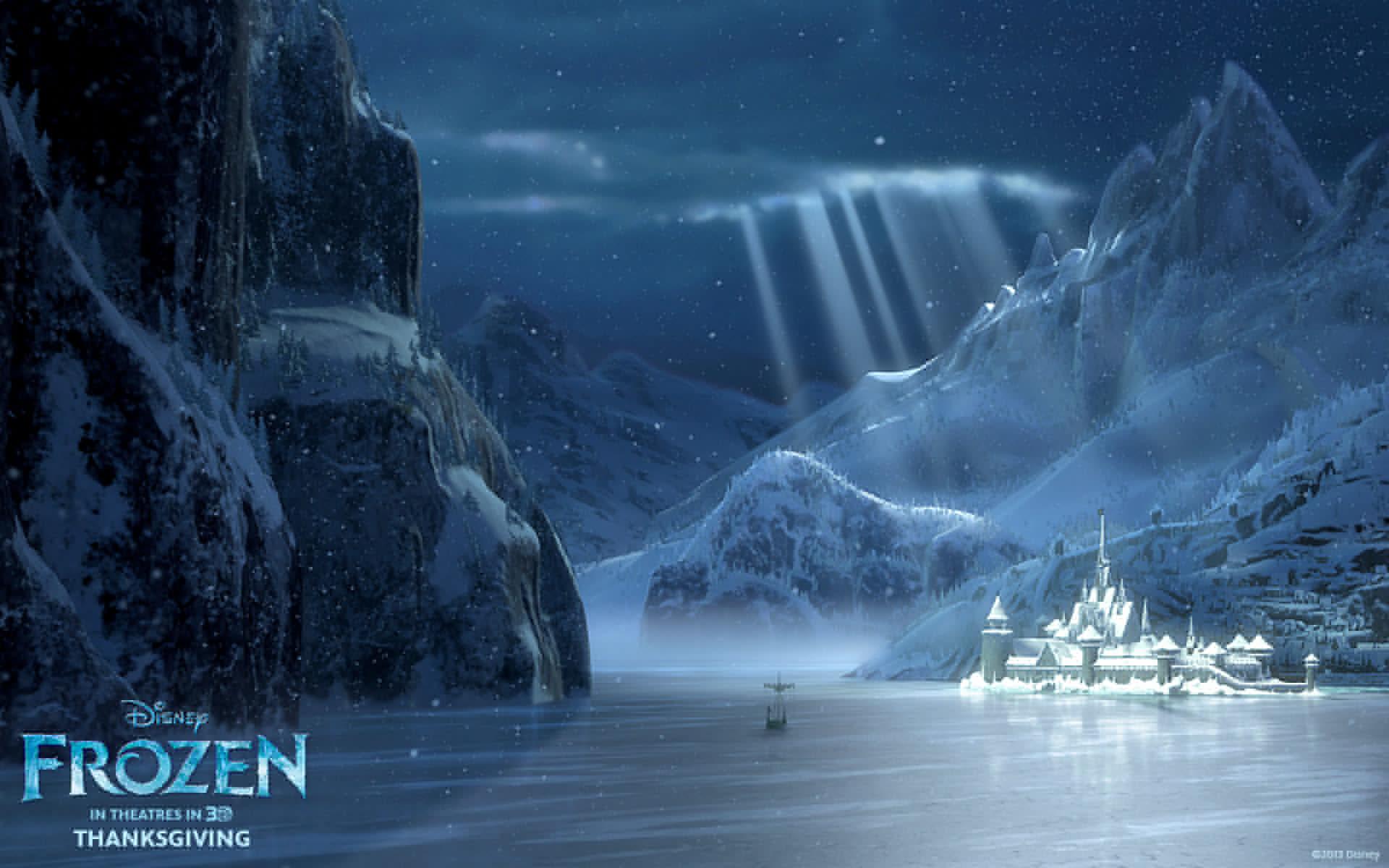 Wallpaper frozen walt disney animation studios cold heart 2013 1920x1200