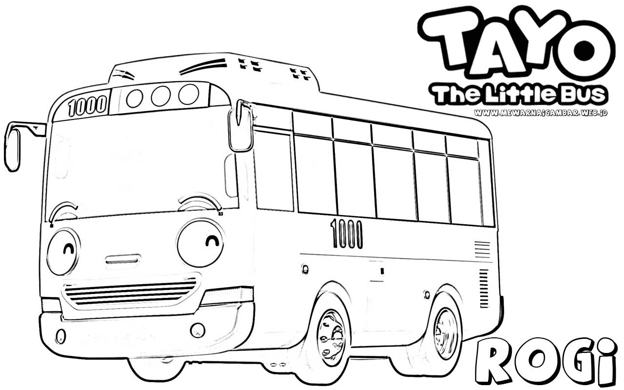 Tayo The Little Bus Wallpapers Wallpapersafari