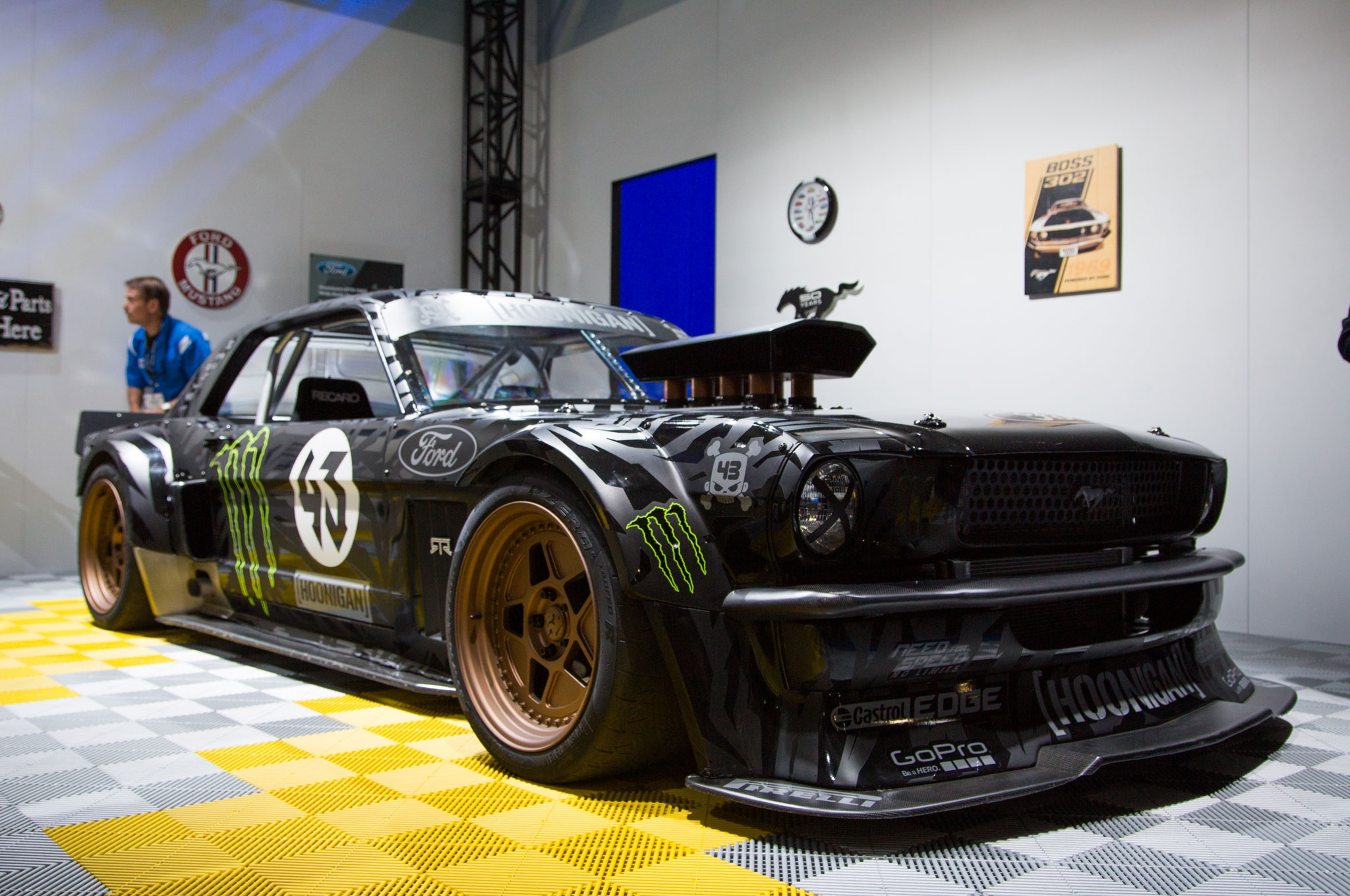 Ken Block Mustang Wallpaper Wallpapersafari