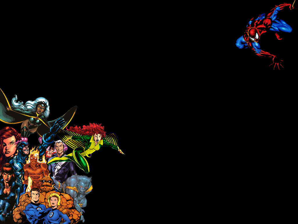 Marvel Super Hero Wallpaper 1 1024x768