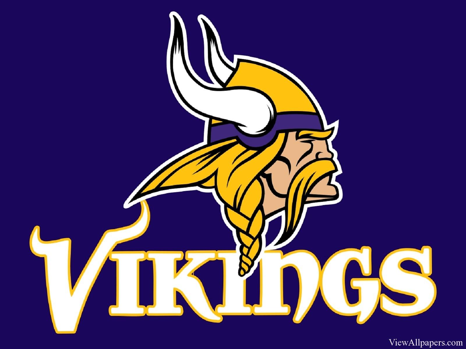 Vikings Logo HD Resolution Wallpaper download Minnesota Vikings 1600x1200