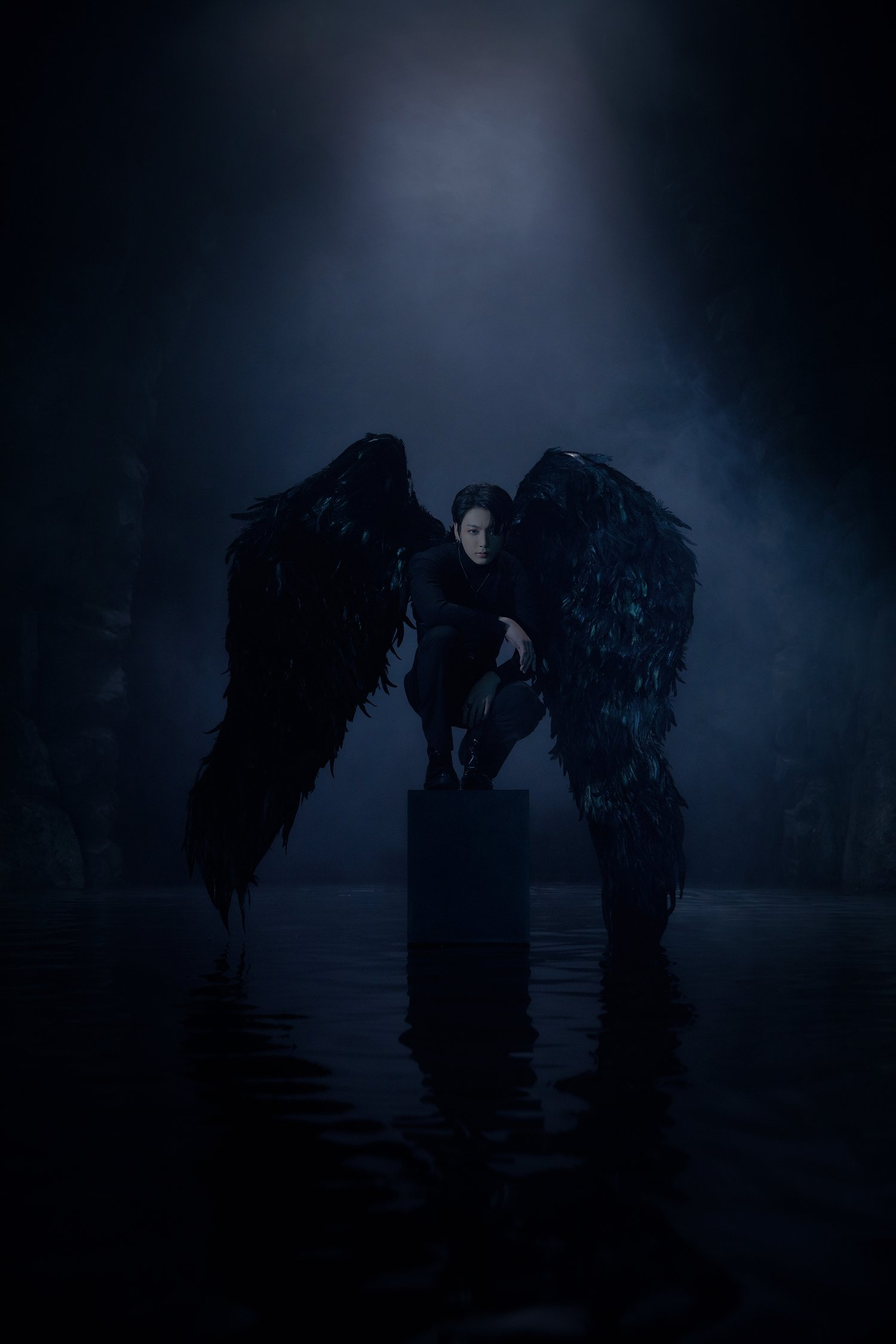 BTS Transforms Into Black Swans For Map Of The Soul 7 Concept 1500x2250