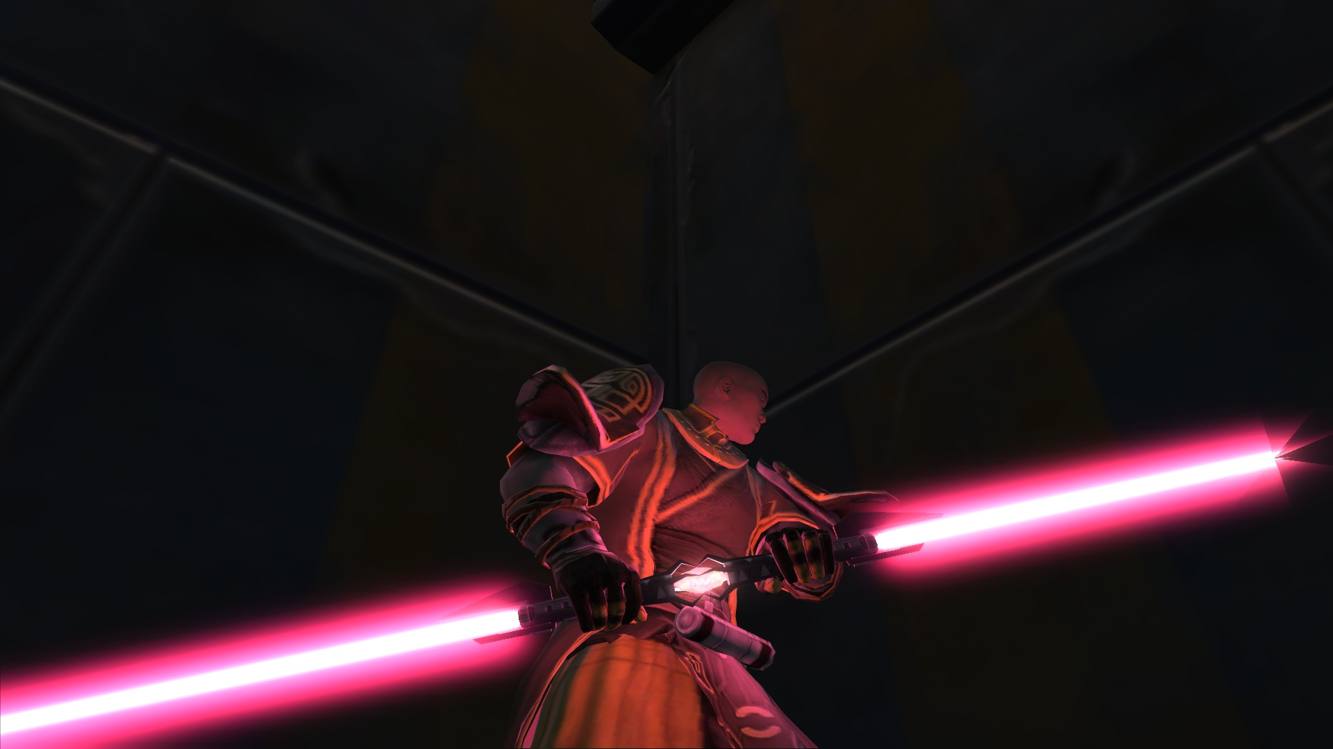 Download Showing Gallery For Double Bladed Lightsaber Purple