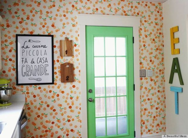 DIY Paint Project Ingeniously Uses Cardboard And Foam To Fake The Look 640x468