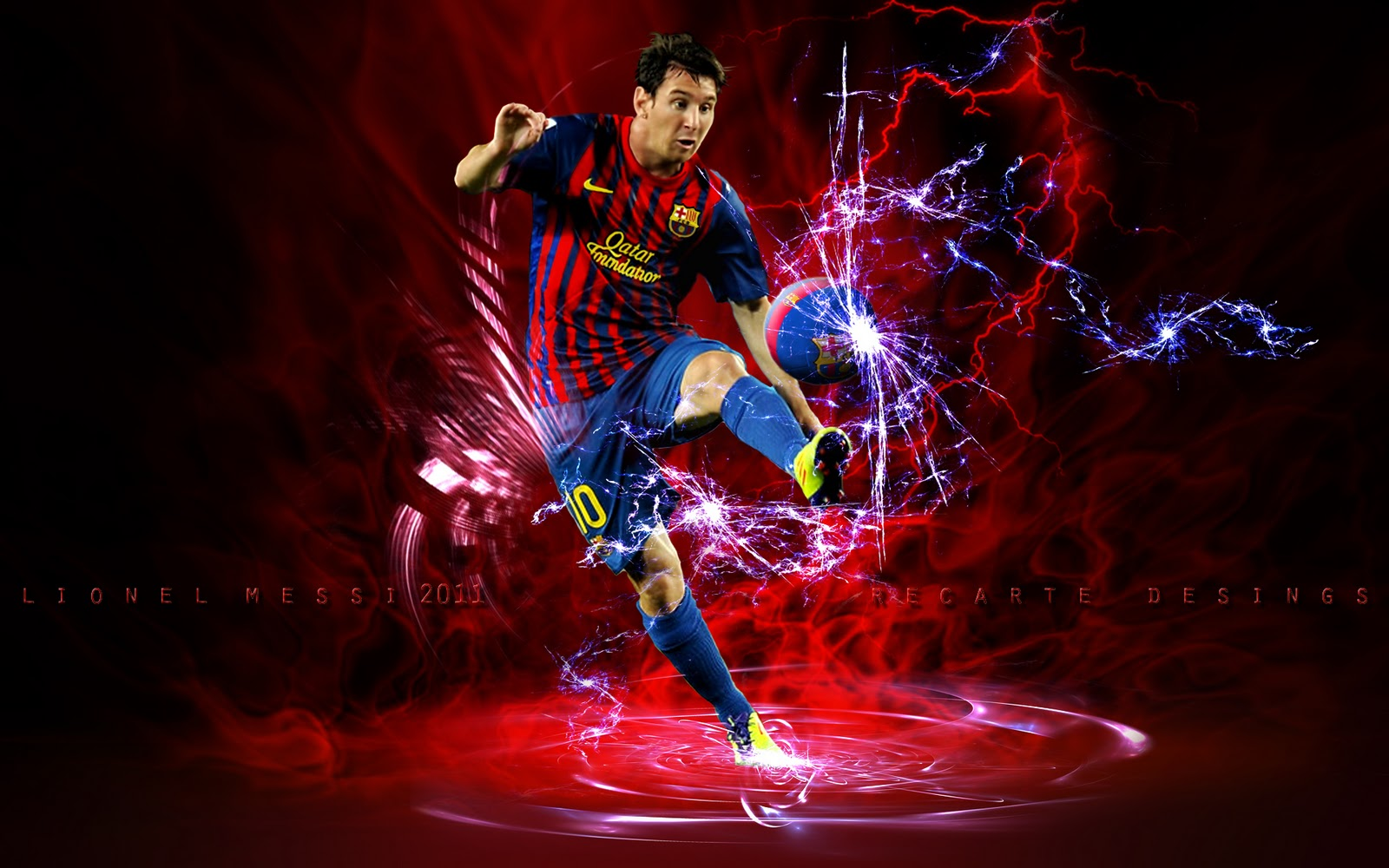 Lionel Messi HD Wallpapers 2012 Best 4U 1600x1000