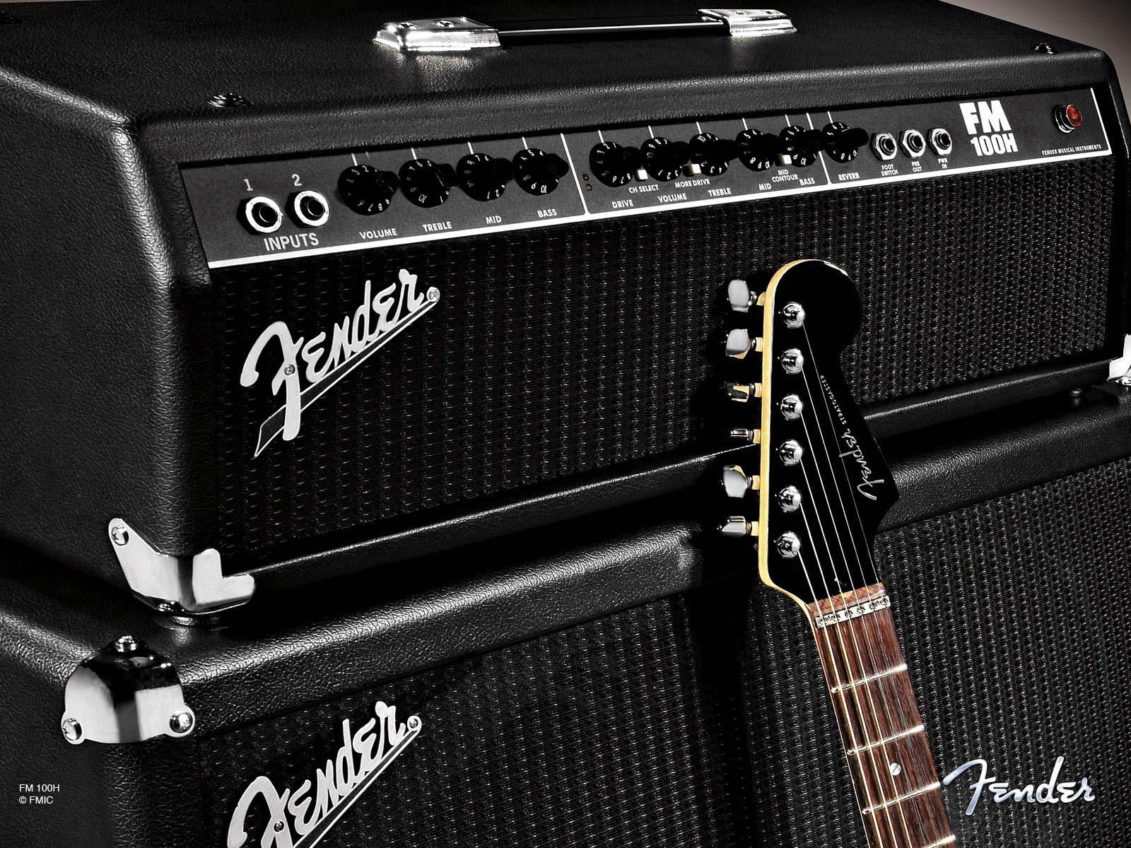 Fender Amp Wallpaper Wallpapersafari