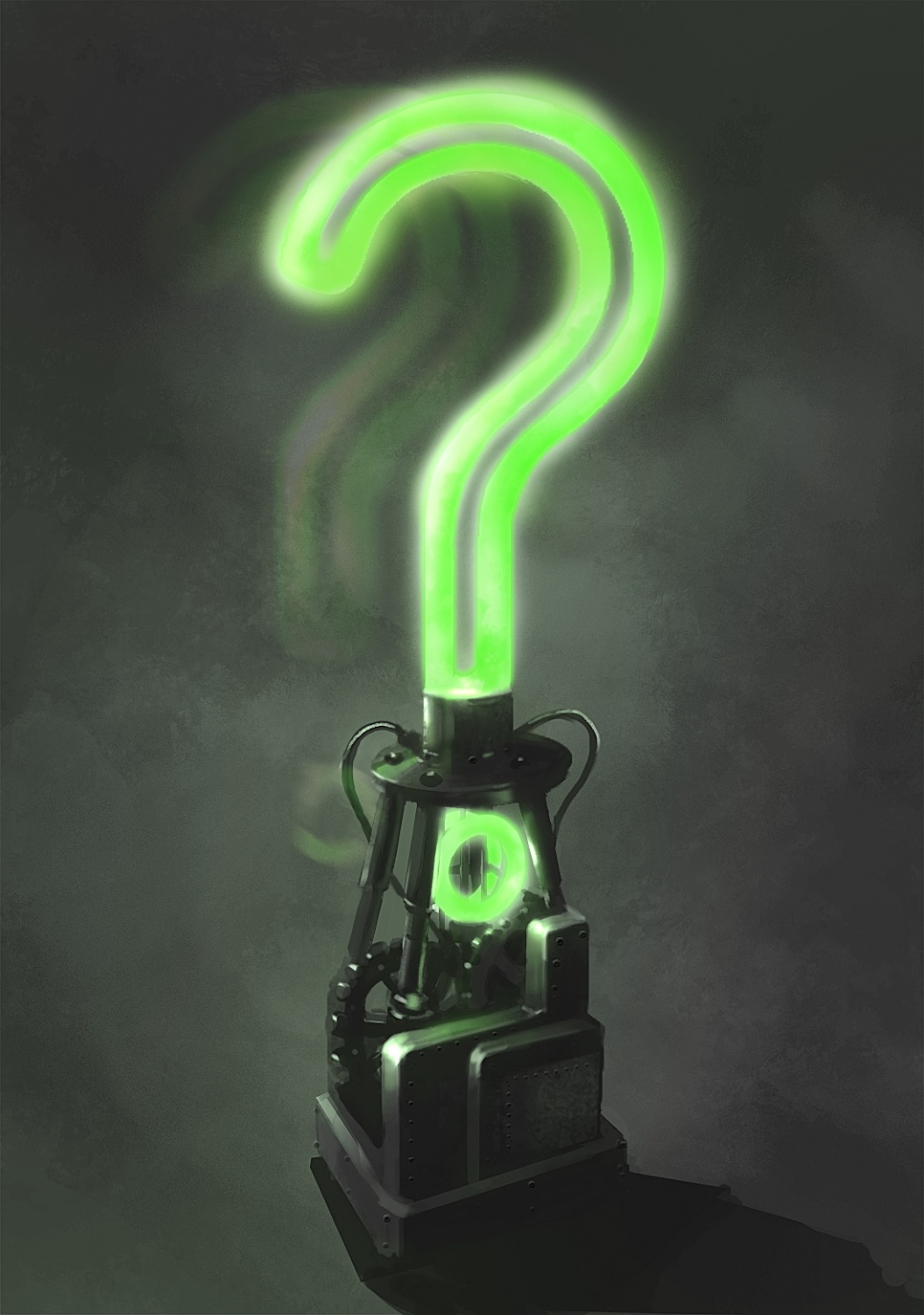 The Riddler Question Mark Wallpaper 1055 x 1500 batman arkham 1055x1500