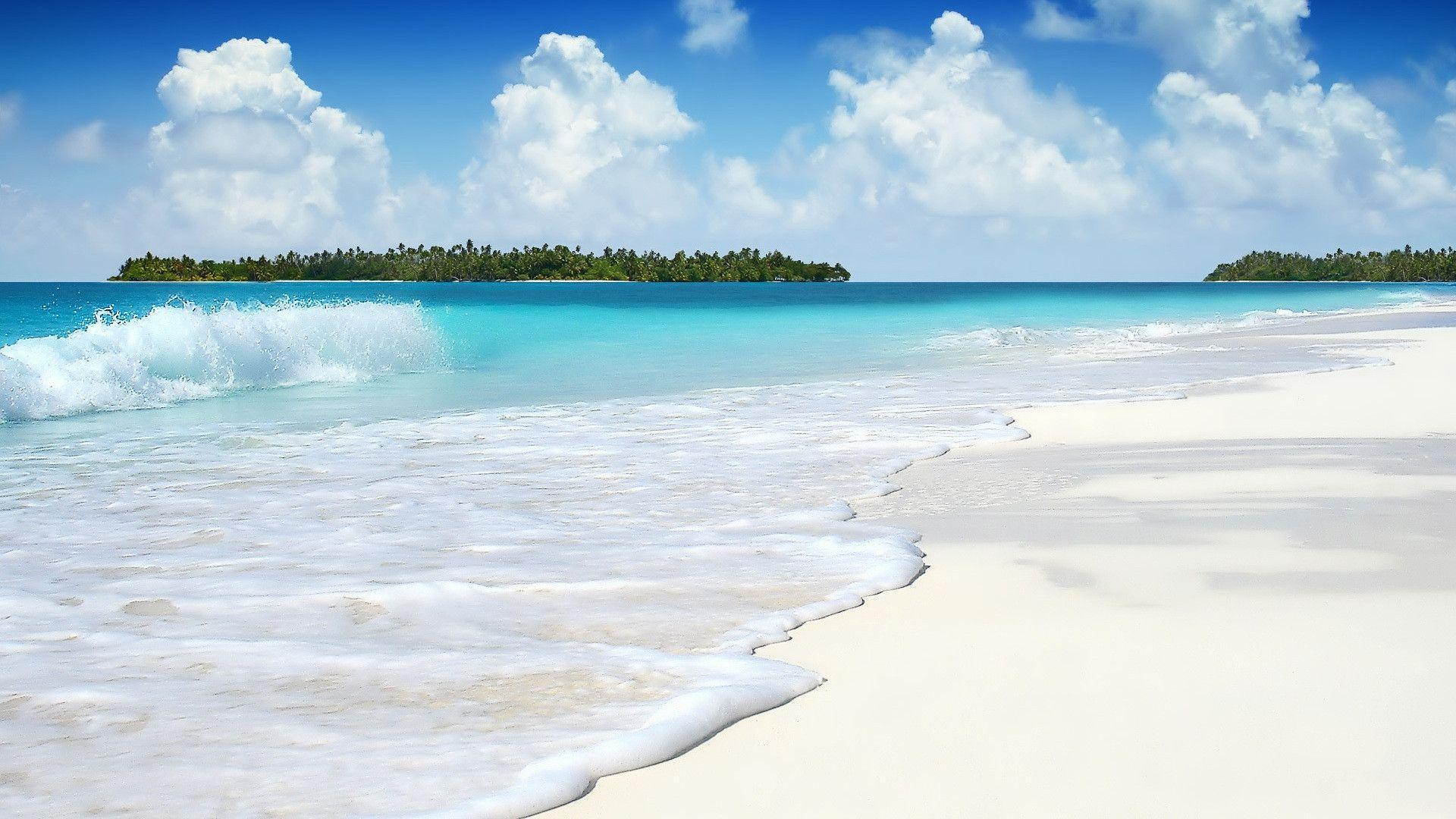 3D Beach Wallpapers 1920x1080