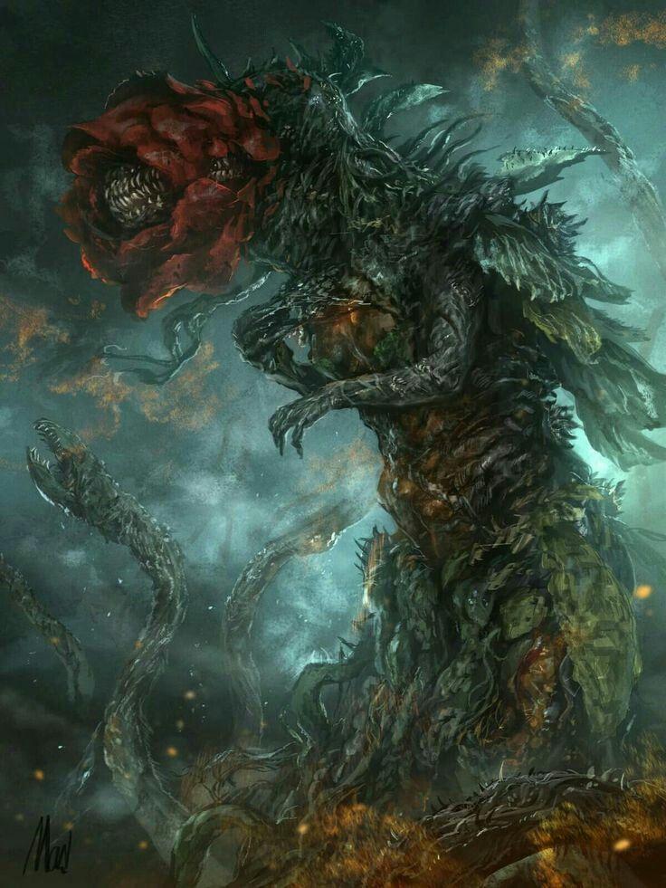 Biollante in her Rose form Godzilla in 2019 Godzilla Fantasy 736x981