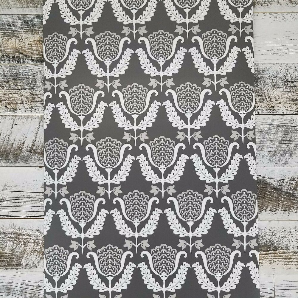 York Scandinavian One Wish Waverly Garden Party Gray Farmhouse 1000x1000