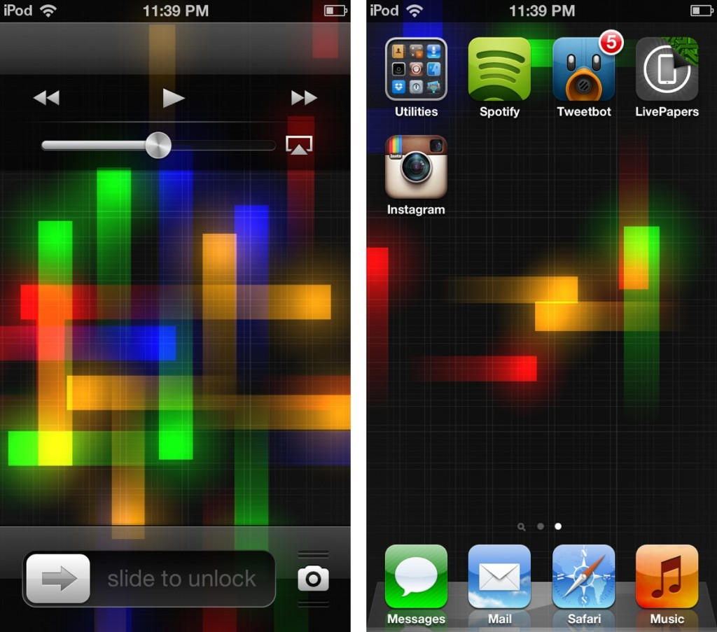 How to Get Animated Wallpapers to iPhone iPad on iOS 6x   Tablet 1024x903